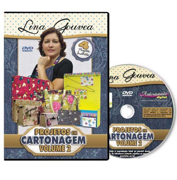 Projetos em Cartoagem Volume 2 com Lina Gouvea