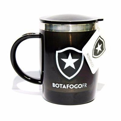 703b484368 Caneca Térmica Botafogo Oficial Aço Inox Com Tampa - Scalla Presentes
