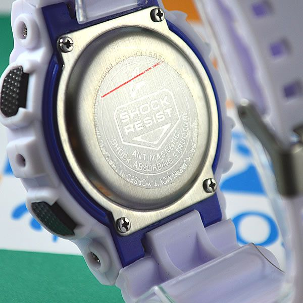 cd7e6c4230c Relógio Casio G-Shock GA-100 Automático Branco Masculino à prova D´água