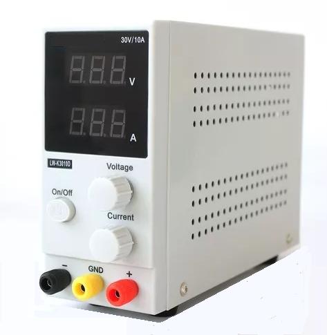 EFB-3010D Fonte de Alimentação Variável p/ Bancada 30V 10A (Bivolt)