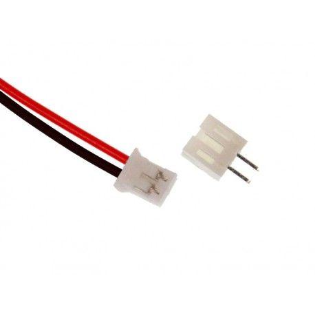 Conector Micro JST PH 2.0 (O PAR 01 Macho 01 Fêmea)