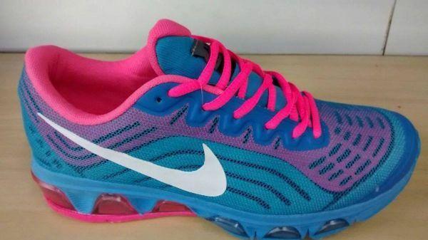 size 40 e50b9 34de4 Nike Air Max 2015 Bolha Azul e Rosa
