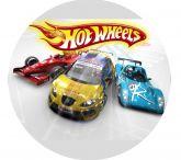 Papel Arroz Hot Wheels Redondo 006 1un