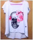 Blusa Love Skull