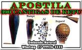 APOSTILAS 390 CANTIGAS DE KETU + TRADUÇÃO