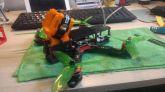 Case Protetor em Tpu Gopro Session 4 & 5 + Base c/ ângulo 35º Frame Martian II & Martian 215