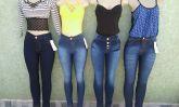 calças jeans femininas