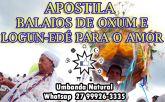 APOSTILA BALAIOS DE OXUM E LOGUM EDÉ PARA O AMOR