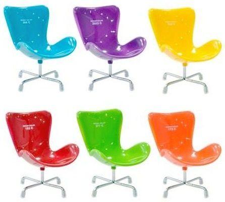 Kit com 6 Cadeiras Chair Design (porta-celular)