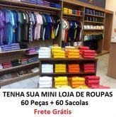 Mini Loja 1 - 60 Peças + 30 Sacolas Variadas - FRETE GRÁTIS PAC