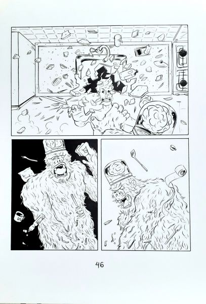 Parafusos, zumbis e monstros do espaço pág 59
