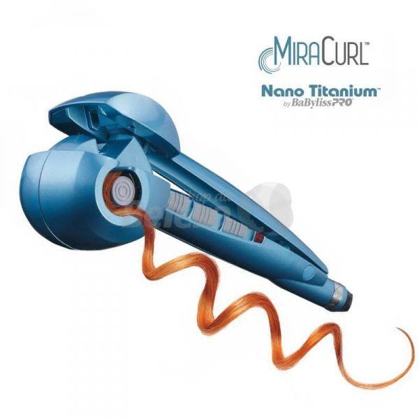 Babyliss Automático Pro Nano Titanium MIRACURL Bivolt