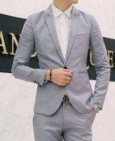 d3a0e58d90 Blazer Masculino EleganceMan - Formal Casual Azul Escuro - MW01 ...