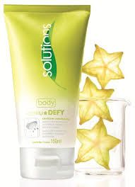 Avon Solutions Body Cellu Defy Loção Massagem Carambola