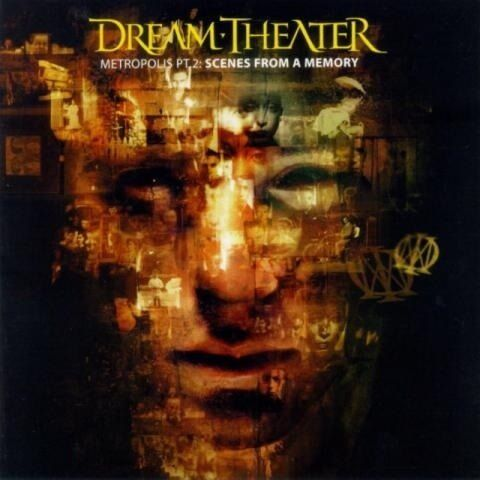 DREAM THEATER – Metropolis Pt. 2: Scenes From A Memory CD
