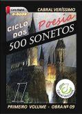 Z-09) Ciclo dos 500 Sonetos - vol. I > 263 págs