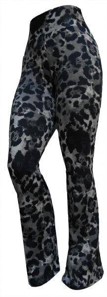 calça feminina flare ou reta (46),cintura alta, estampa animal print/camuflado,suplex  gramatura 360