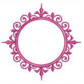 Brasão Casamento Matriz de bordado