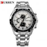 Relógio Masculino Curren Top marca de luxo aço