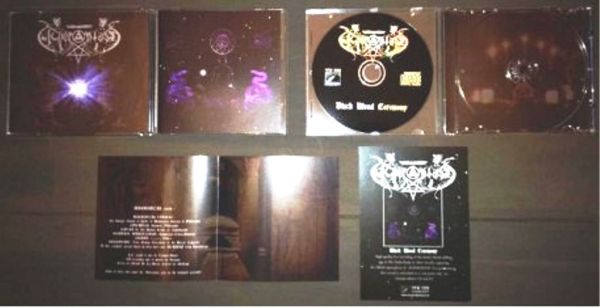 Acherontas - Black Blood Ceremony - CD