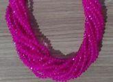 T4 Cristais Cor Rosa Pink Tam 4 (apx 100 unidades)