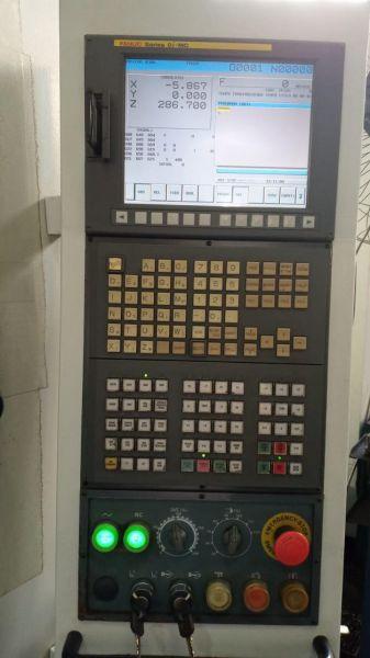 Centro de Usinagem ROMI D 600 Ano 2011 Fanuc Usada