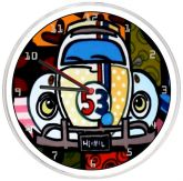 Relógio De Parede Fusca Herbie 53
