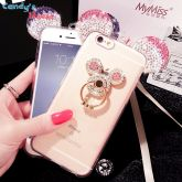 Capa I Phone 5/ 6 / 7/ X  Minnie Cod 088