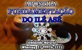 APOSTILA FUNDAMENTAÇÃO DO ILÉ ASÉ