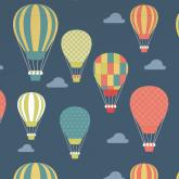 Adesivo Papel de Parede Balonismo