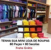 Mini Loja 2 - 80 Peças + 40 Sacolas Variadas - FRETE GRÁTIS PAC