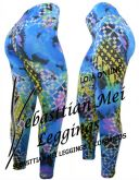 Calça Legging Estampada |TC085-Fitness-Esportiva