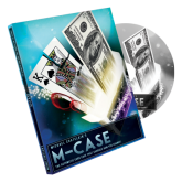 M-case blue (dvd-R and gimmick) by mickael chatelain #1179