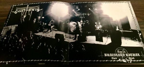 GOATPENIS - LIVE IN BRAZILIAN RITUAL - THIRD ATTACK - CD