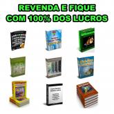 REVENDA - PACK  9 EBOOKS PARA REVENDA