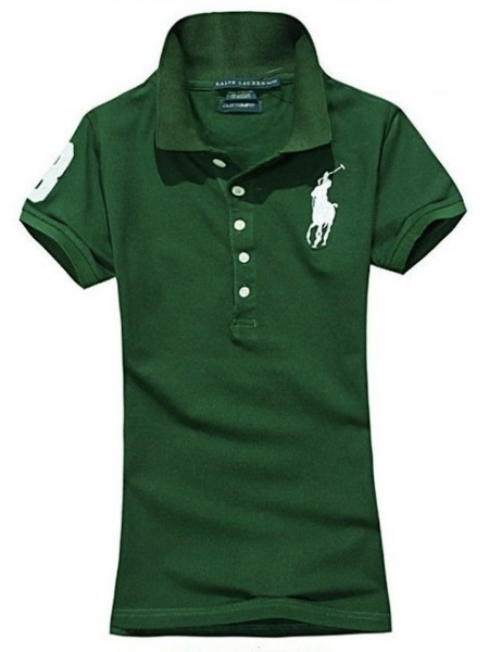 8fbb43aaa Camisa Polo Feminina Ralph Lauren - Verde Escuro - JSM Importados