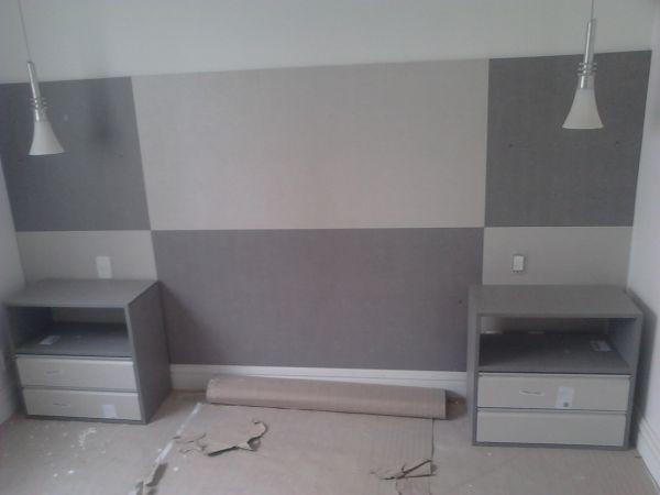 Painel cama 02 s r ambientes planejados for Cama moderna 2018