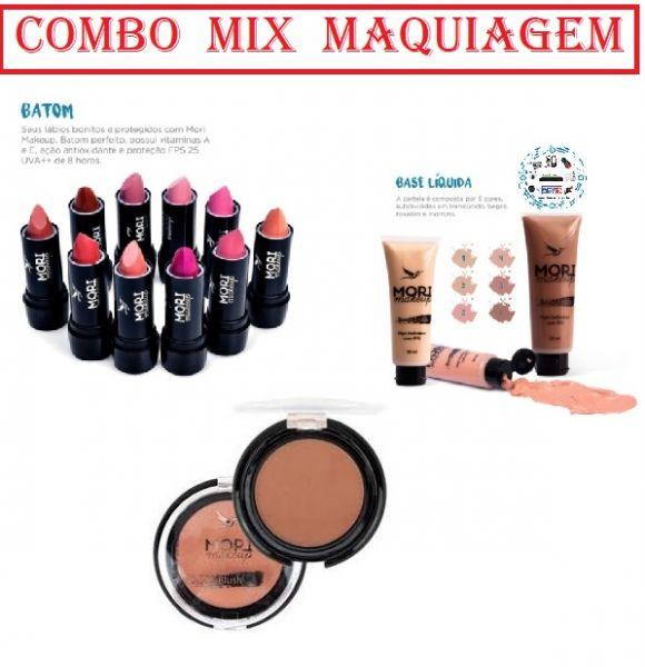 Combo Mix Maquiagem Mori