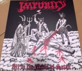 IMPURITY - All In the Name of Satan - LP (Black) + Poster 40x60 + Double Insert  with Poster