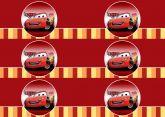 Papel Arroz Cars Faixa Lateral A4 011 1un