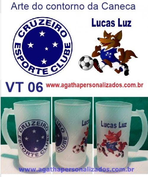 Caneca de Chopp do Cruzeiro (VT 06) - Agatha Presentes Personalizados 30fb450f58bde