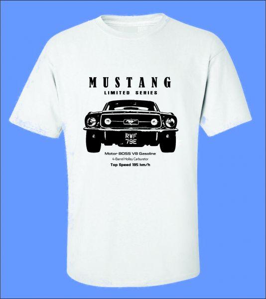 d76ad7206 Camiseta Carro Antigo Mustang II - ROTA RETRÔ 64 Camisetas de Carros ...