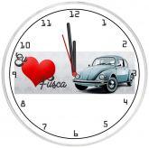 Relógio Parede Eu Amo Fusca