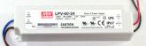LPV-60-24 Driver de Tensão Constante 24V x 2,5A Mean Well