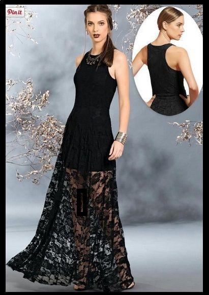 3a3cff621 Vestido Longo Renda Forrado -Festa - Casamento- Formatura Pronta Entrega  Frete Grátis