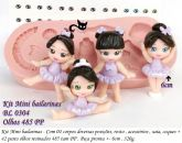 Kit mini  bailarinas  com olhos 485 PP  ( BL 0304 )