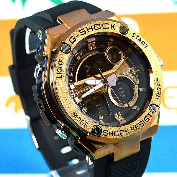 36e16f18902 Relógio Casio G Shock Steel Aço Cobre Detalhes em Cobre Masculino à prova  d´água