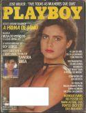 PLAYBOY MAGAZINE BRAZIL # 123 - LUCIANE QUADROS (2) - OCT 1985 HOT