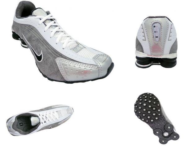 c1f12e65c Tênis Nike Shox R4 Cromado