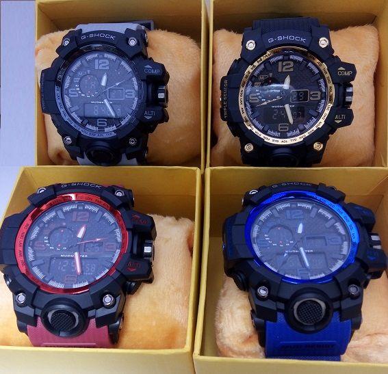 d6dd94c6db8 Kit c  4 Relógios G-shock na caixa - cores aleatórias - ATACATISTA SP